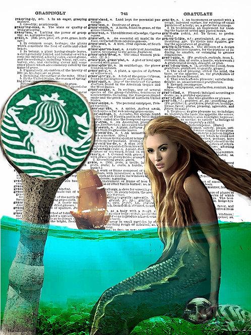 Caffeine Mermaid - AW00270