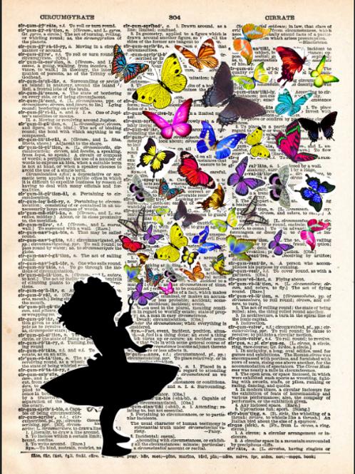 Butterflies Fly - AW00570