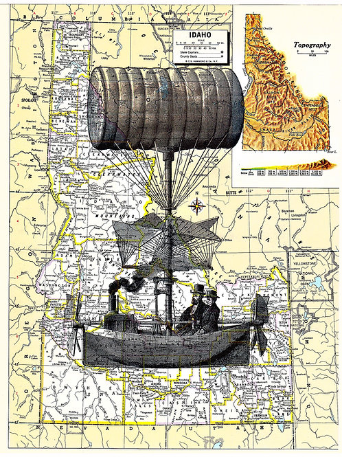 Steam Balloon (Atlas) - AW00521