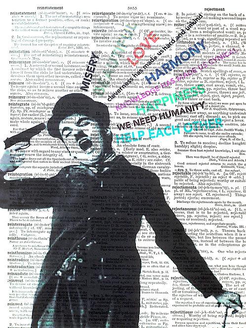 Charlie Chaplin - Words Matter - AW00512