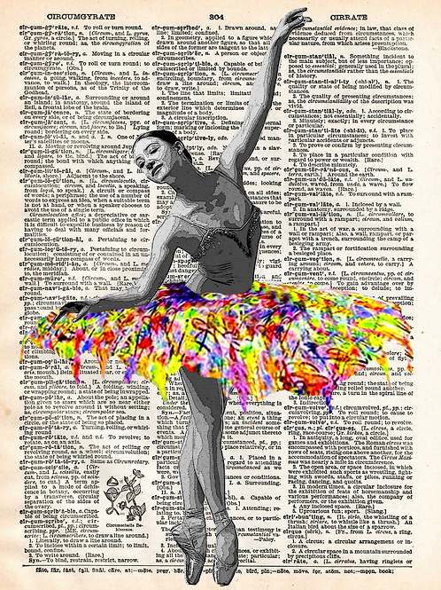 Colorful Ballet - AW00475