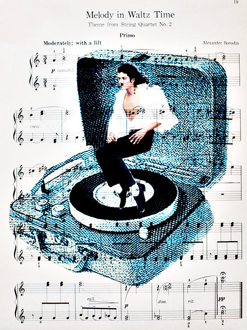 MJ Spin (Sheet Music) - AW00155