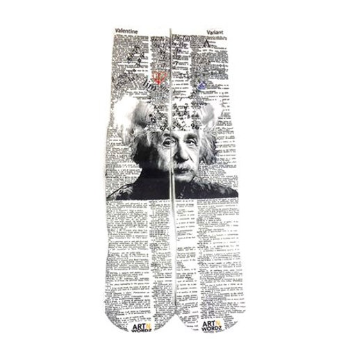 Mathematician art socks (real equation for love )