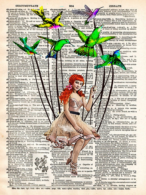 Bird On A Wire - AW00568