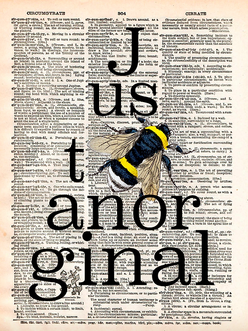 Just Bee An Original - AW00389
