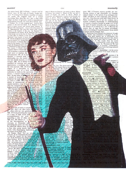 Audrey and Darth Vadar - AW00291