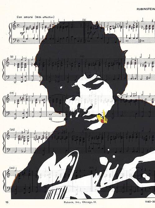 Dylan Guitar ( Music ) - AW00141