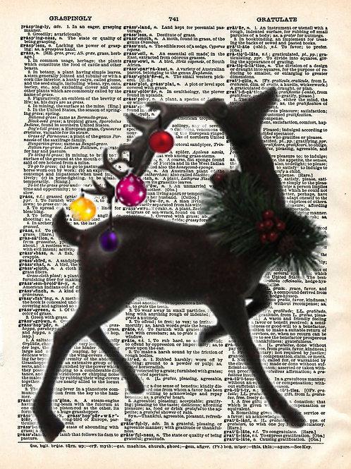 Ornament Deer - AW00274