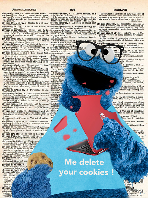"""""""Me Delete Your Cookies"""" - AW00437"""