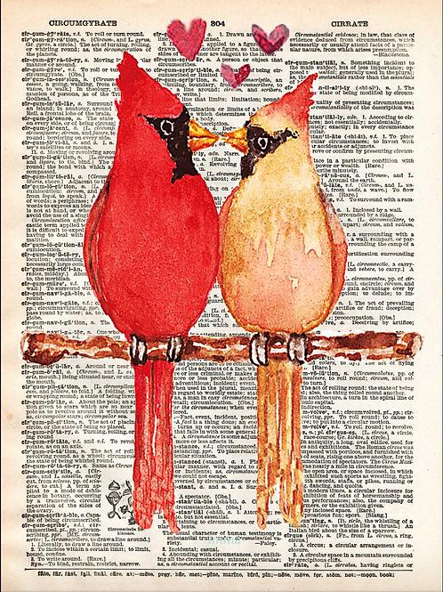 Love Birds - AW00551
