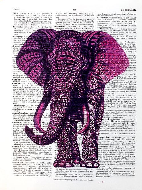 Pink Elephant - AW00083