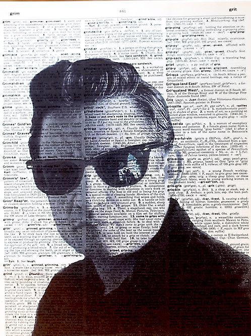 Johnny Cash Glasses - AW00150