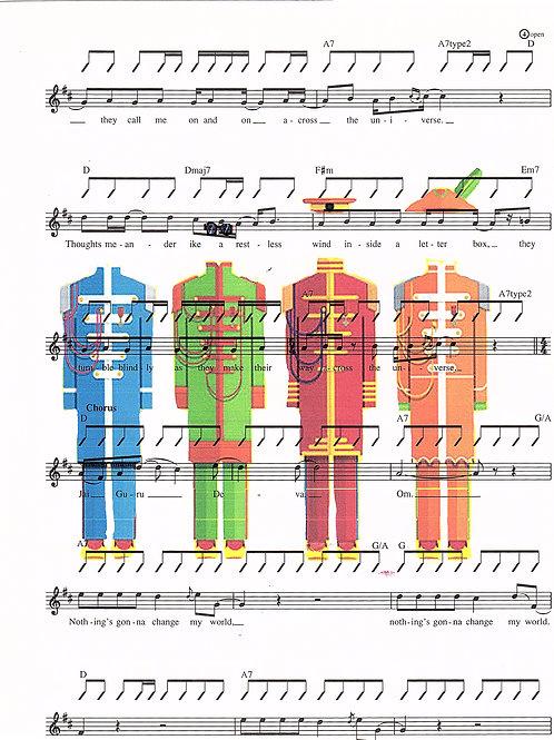 Beatles Uniform ( Music ) - AW00138