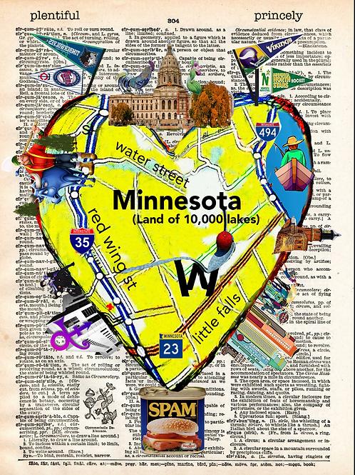 Minnesota Heartwork - AW00519