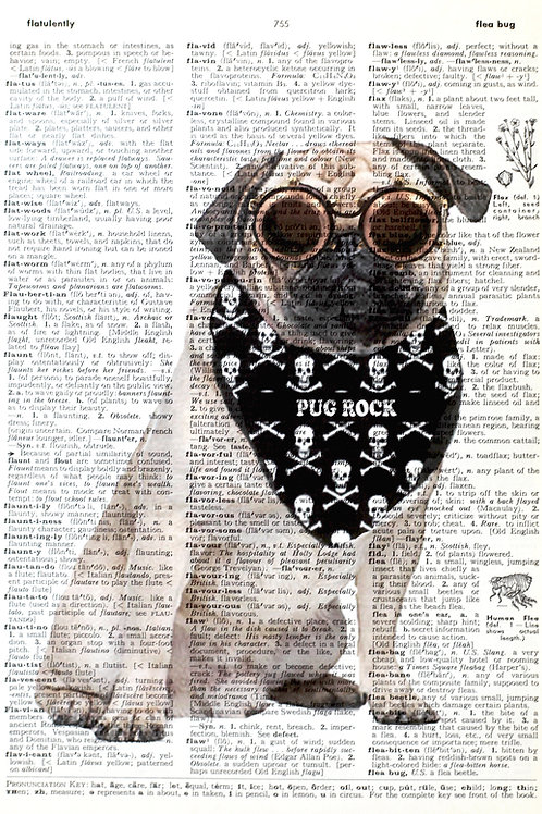 Steam Punk Pug - AW00078