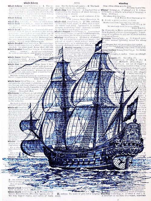 TBS ( Tall ship dictionary ) - AW00189
