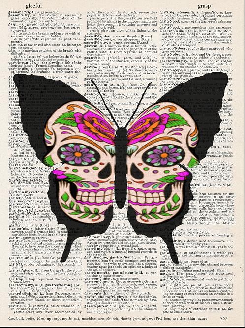Butterfly Skull - AW00560