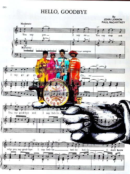 SGT. Pepper (Sheet Music) - AW00165