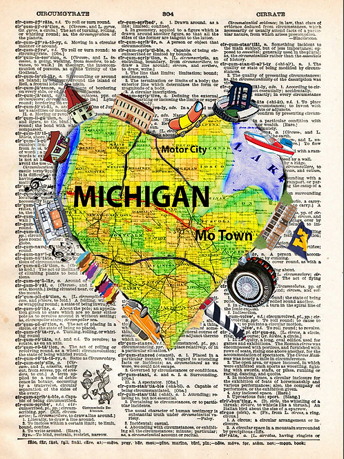 Michigan Heartwork - AW00250