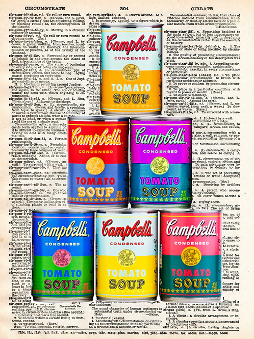 Stacked Cans  - AW00121