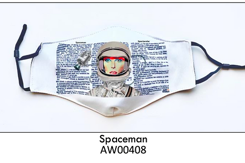 Spaceman FACE MASK