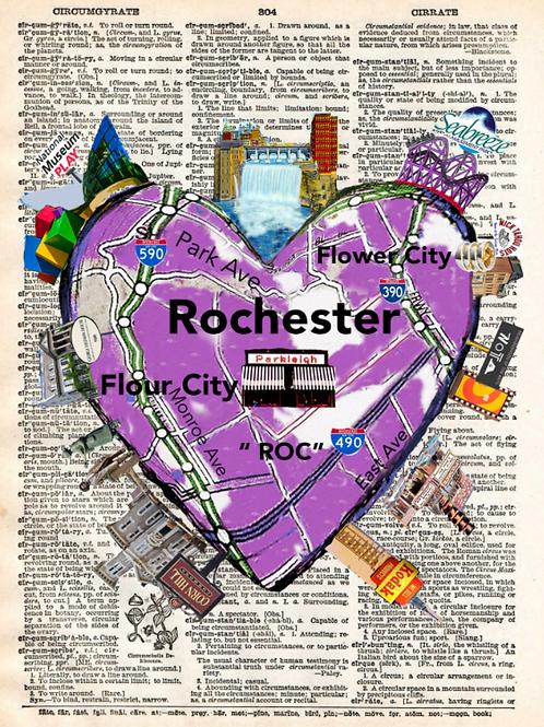 Rochester Ny Heartwork - AW00456