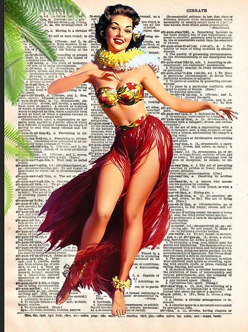 Hula Girl - AW00453