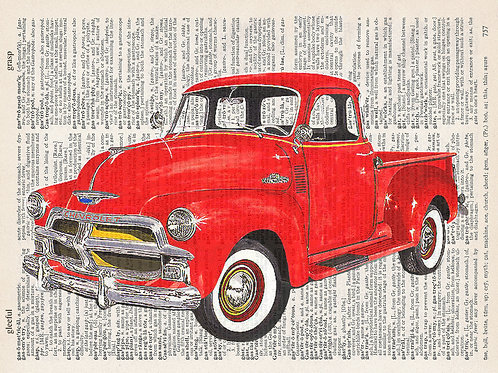 Chevy Truck - AW00341