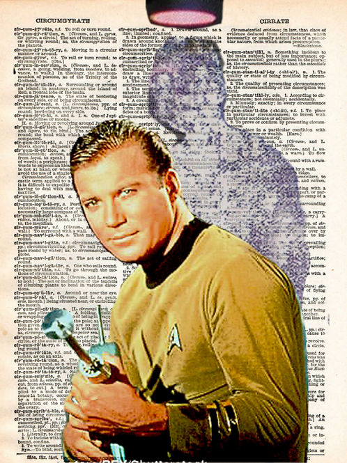 Captain Kirk ( Beam me up ) - AW00594
