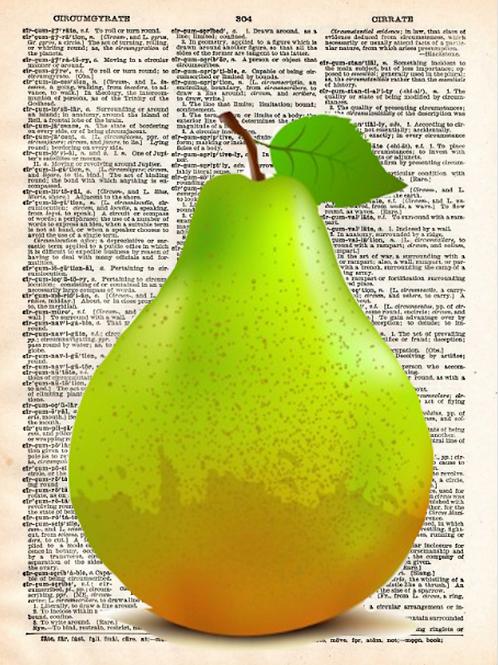 Green Pear - AW00476