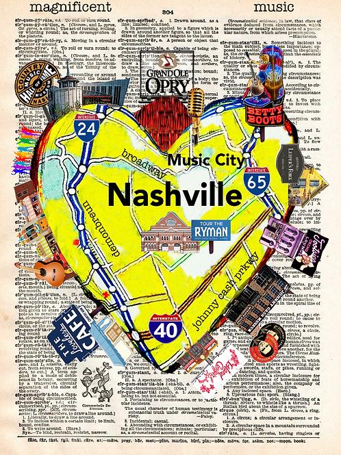 Nashville Heartwork - AW00462