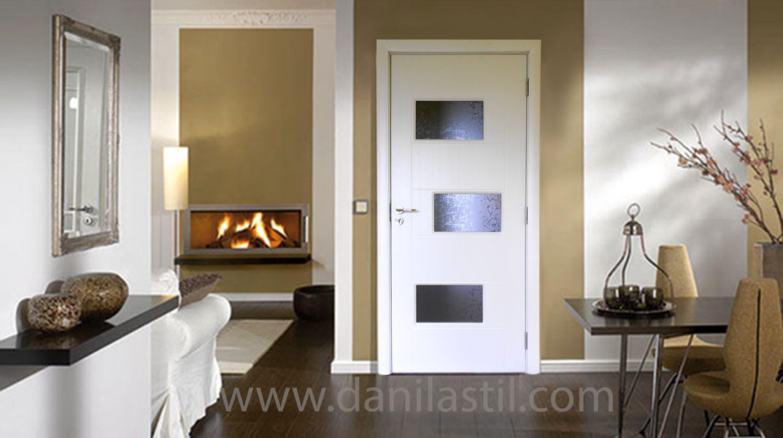 интериорна врата модел 38 бяла