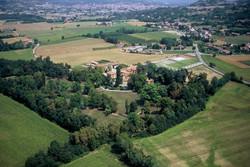aerial view villa Scati