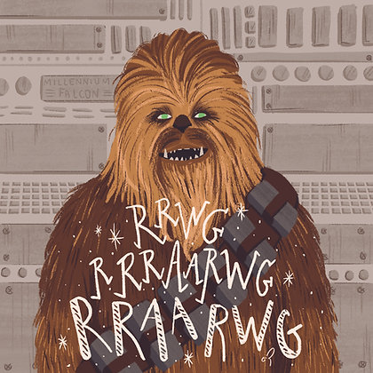 Poster Chewie