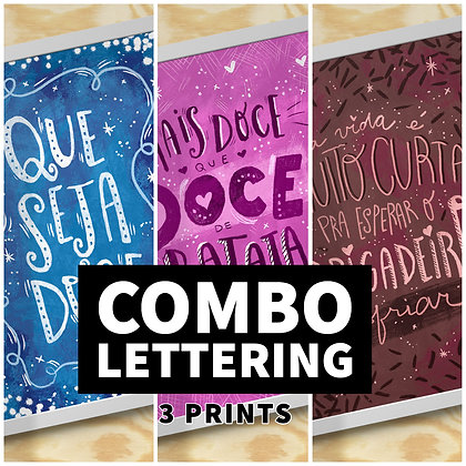 Combo Lettering
