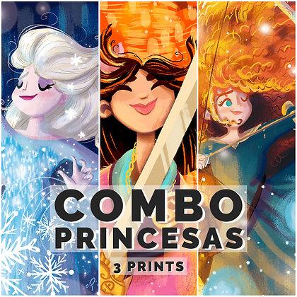Combo Princesas