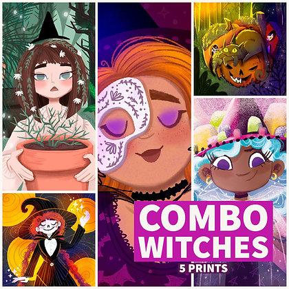 Combo de Prints 'Witches'