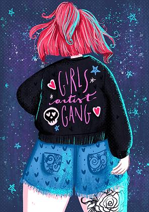 Poster Girls Artist Gang