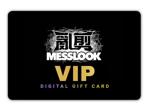 """""""𝐌𝐄𝐒𝐒𝐋𝐎𝐎𝐊"""" VIP GIFT CARD GOLD"""