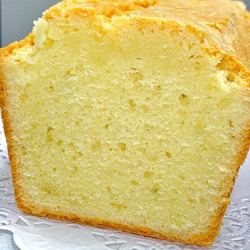 Glazed Pound Cake - Half Loaf (8-10 Slices)