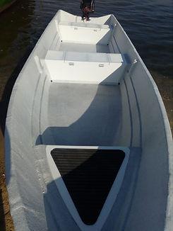 Bote PICCOLO 4,80 - KRAUSE Boats - Barato e confiável - o menor da linha Estaleiro Krause BOTE PESCA