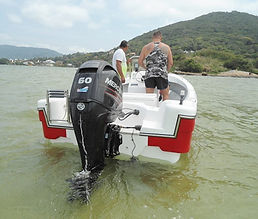 Lancha KRAUSE TR 17 modelo Panga Lagoa da Conceição Santa Catarina