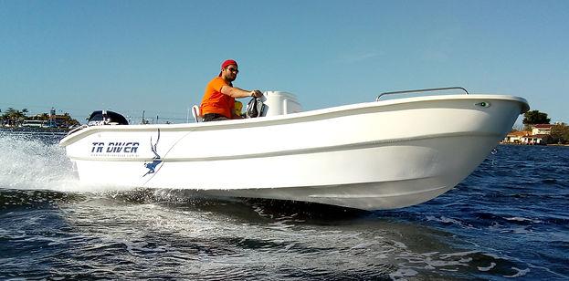 KRAUSE TR DIVER- KRAUSE Boats Estaleiro Krause - Lancha PANGA Style 5,30 m - lancha pesca 17 pés - @krauseboats - PANGA BOATS BRAZIL