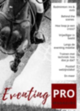 magazine, eventing, EventingPRO
