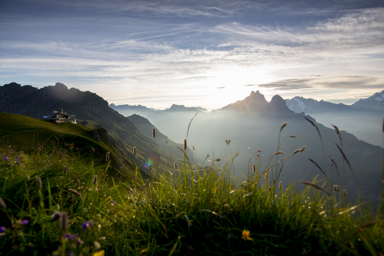 Der Alpentower Hasliberg