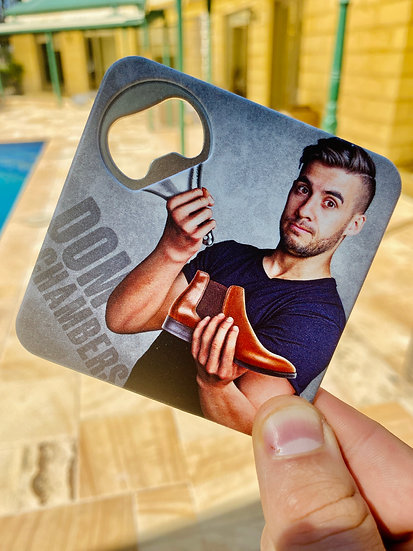 2 IN 1 COASTER-BOTTLE-OPENER (5-PACK)