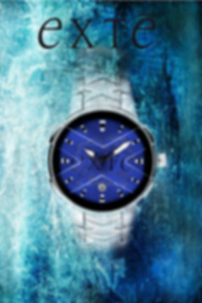 Exte Watch Blue Ice