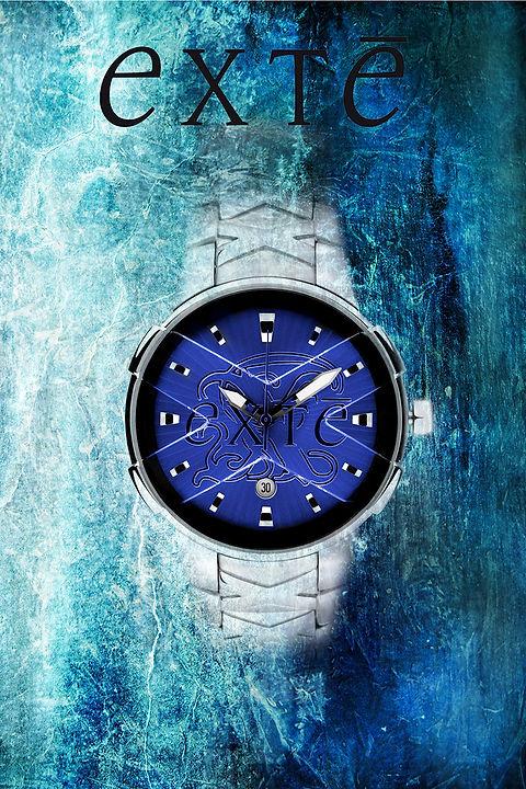 Exte Watch Blue Ice