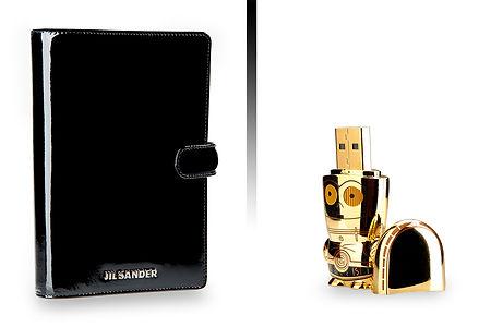 Jil Sander Notebook Black Starwars USB Drive