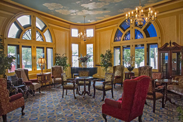 Lafayette Hotel Lobby
